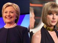Taylor Swift được bà Hillary Clinton ủng hộ trong vụ kiện bị tấn công tình dục