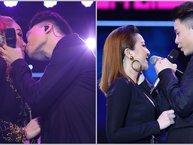 Vừa 'tái hợp' Yến Nhi trên sân khấu, Trịnh Thăng Bình đã chủ động 'cưỡng hôn' Minh Hằng