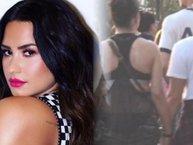 Fan nháo nhào với ảnh Demi Lovato nắm tay hạnh phúc bên 'bạn gái tin đồn'