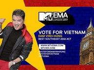 MTV châu Á quyết định Đàm Vĩnh Hưng là đại diện của Việt Nam tranh tài tại EMA 2017