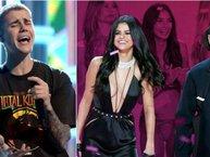 Không thể tin nổi, đối thủ của Bieber tại LAMAs 2017 lại là Selena Gomez và The Weeknd