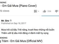 Cuối cùng thì sau 3 tuần 'on top', Hương Tràm đã ngậm ngùi nhường lại vị trí #1 trending YouTube cho Mr. Siro