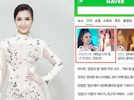 Tỏa sáng tại Asia Song Festival, Đông Nhi được lập hẳn profile tại cổng thông tin lớn nhất Hàn Quốc
