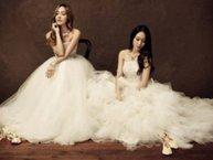 Đẹp mơ màng với các nữ idol diện váy cưới siêu lung linh