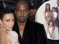 Vợ Kanye West mở tiệc chào đón em bé sắp chào đời nhờ người mang thai hộ