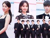 EXO, YoonA, Suzy và dàn thần tượng KPOP khoe sắc trên thảm đỏ AAA 2017