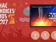 Chủ nhân Tinnhac Fan Choices' Awards 2017 chính thức lộ diện, fan chuẩn bị nhận quà khủng