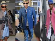 Pharrell Williams - Biểu tượng thời trang xóa nhòa khoảng cách giới tính