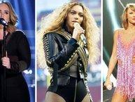 """Forbes công bố danh sách 10 nữ ca sĩ có thu nhập """"khủng"""" nhất năm 2017"""