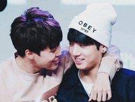 Ngất ngây trước những khoảnh khắc 'rụng tim' của JiKook - cặp đôi 'đáng yêu hết phần thiên hạ' của BTS