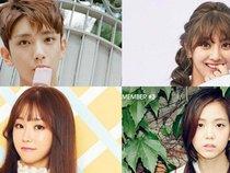 """Tuyển tập 14 cái tên nghệ sĩ Hàn Quốc """"trùng, trùng nữa, trùng mãi"""""""