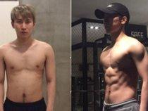 Eunkwang (BTOB) khoe ảnh lột xác từ bụng mỡ sang 6 múi siêu quyến rũ