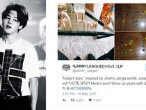 Jimin (BTS) truyền cảm hứng cho các ARMY tạo nên một xu hướng mới trên Twitter