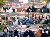 Chùm ảnh: Sao Hàn 'người hừng hực sức sống, kẻ mặt ngái ngủ sưng vù' trên đường đi làm tại Music Bank 10/11