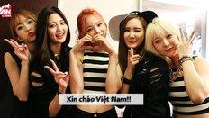 Bạn biết bao nhiều điều về fan và EXID khi EXID về Việt Nam?