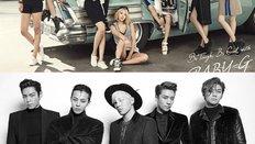 Bạn thuộc về nhóm nhạc nào của thế hệ Kpop thứ 2?