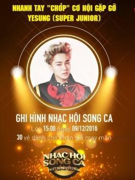 HOT: Nhạc hội song ca chính thức xác nhận Yesung tham gia tập mở màn