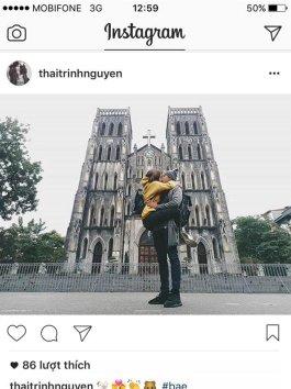 Thêm nhiều bằng chứng hẹn hò của Thái Trinh và Quang Đăng