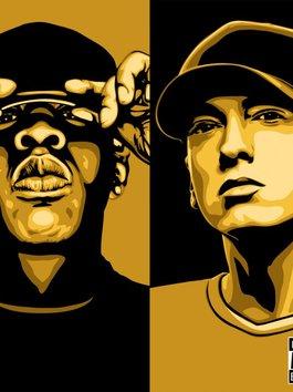 """Tranh cãi vụ Jay-Z """"đánh bật"""" Eminem có tên tại Sảnh Danh vọng: Ai nhỉnh hơn ai?"""