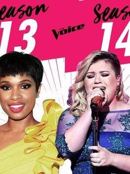 Kelly Clarkson bất hòa với Jennifer Hudson, không ngồi chung ghế The Voice?