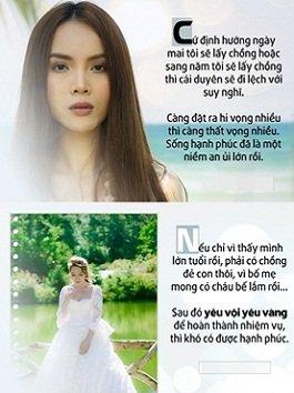 Bị fan hối thúc chuyện kết hôn và đây là câu trả lời ai nghe cũng phải gật gù của dàn mỹ nhân Việt