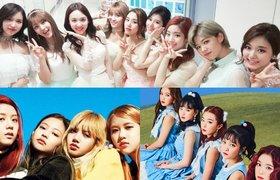 So sánh TWICE Tzuyu , BP Jisoo và RV Irene (TWICE the queen of kpop)