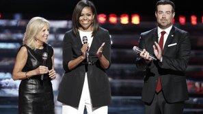 Phu nhân Tổng thống Mỹ xuất hiện trên sân khấu The Voice