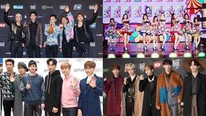 Dàn thần tượng hot nhất Hàn Quốc đổ bộ thảm đỏ cuối năm của SBS
