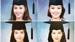 Hình tốt nghiệp đại học của 4 mỹ nữ SNSD bất ngờ sốt trở lại