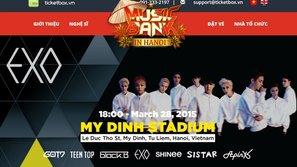 """EXO, SISTAR và GOT7 sẽ hát ca khúc tiếng Việt trong """"Music Bank in Hanoi"""""""