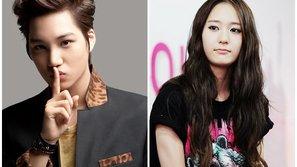 Kai (EXO) và Krystal (f(x)) bị tung bằng chứng hẹn hò