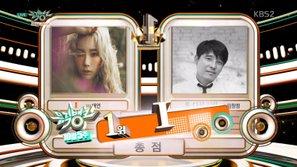 """Như dự đoán, Taeyeon lại """"vô địch"""" tại show Music Bank"""