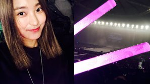 Bora khoe ảnh đến xem concert của Girl's Generation