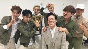 Show Champion: BTOB xúc động khi giành chiến thắng