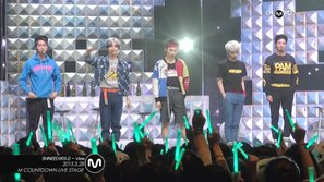 SHINee qua mặt Big Bang giành cup trên M! Countdown