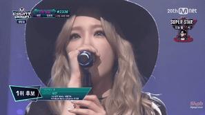 Taeyeon lên ngôi vô địch M! Countdown tuần này
