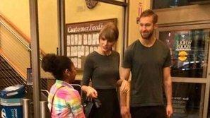 Taylor Swift và Calvin Harris lộ ảnh mặc đồ đôi đi hẹn hò