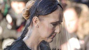 Chùm ảnh: Celine Dion từ biệt chồng lần cuối