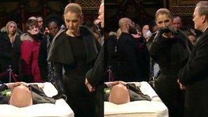 Celine Dion đưa tiễn chồng tại lễ viếng