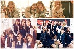 Thế hệ girlgroup thứ 4 được kỳ vọng tiếp nối SNSD, 2NE1, Sistar