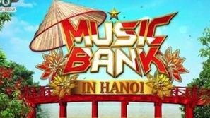 Hé lộ poster chính thức của tour diễn Music Bank tại Hà Nội