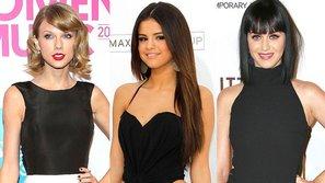 """""""Thâm cung bí sử"""" mối quan hệ Taylor Swift - Katy Perry - Selena"""