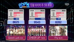 Inkigayo 29/5: Twice kết thúc quảng bá