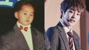 Ảnh ấu thơ của sao Hàn