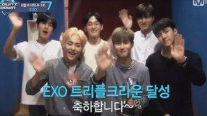 M!Countdown 30/6: EXO tiếp tục chiến thắng dù đã kết thúc quảng bá