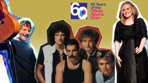 Queen dẫn đầu danh sách album bán chạy nhất mọi thời đại tại Anh