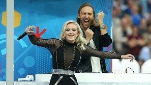 Màn kết hợp hoàn hảo của David Guetta và Zara Larsson tại lễ bế mạc Euro 2016