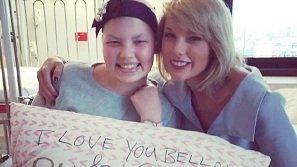 Taylor Swift giúp ước mơ của fan nhí thành sự thật