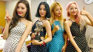 M!Countdown 14/7: Wonder Girls đánh bại Beast và giành chiếc cúp thứ hai