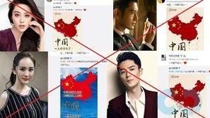 Có hay không chuyện các nghệ sĩ Trung Quốc bị ép share hình ủng hộ đường lưỡi bò?